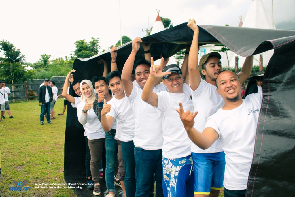 Jasa Event Documentation Bogor Sky - Uptrans Corporation Entertainment Team Building Program - 6