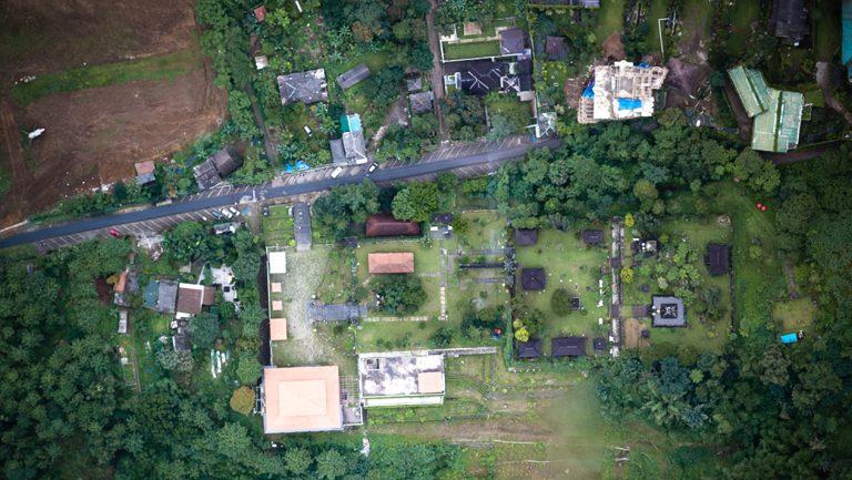 Pemetaan Pura Jagatkarta Ciapus – PT. Waskita Karya