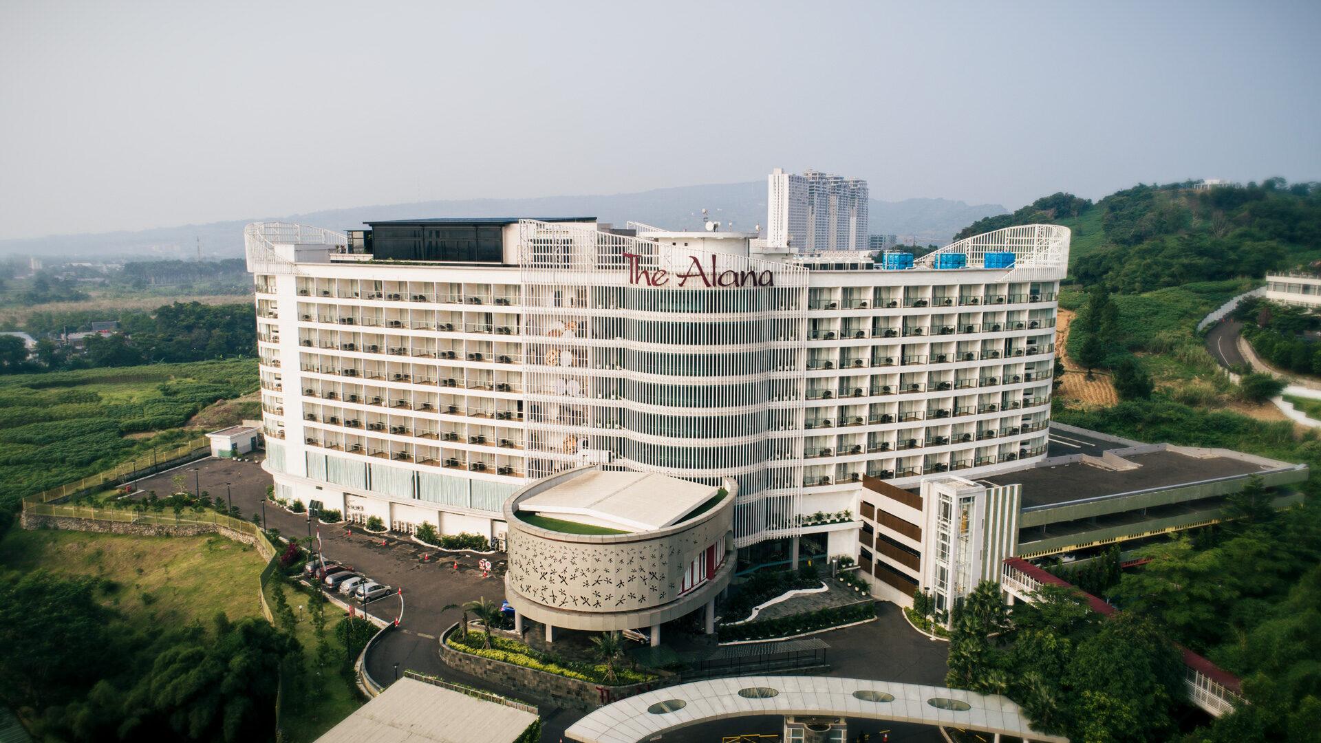 Jasa Foto dan Video Udara Bogor Sky - Alana Hotel