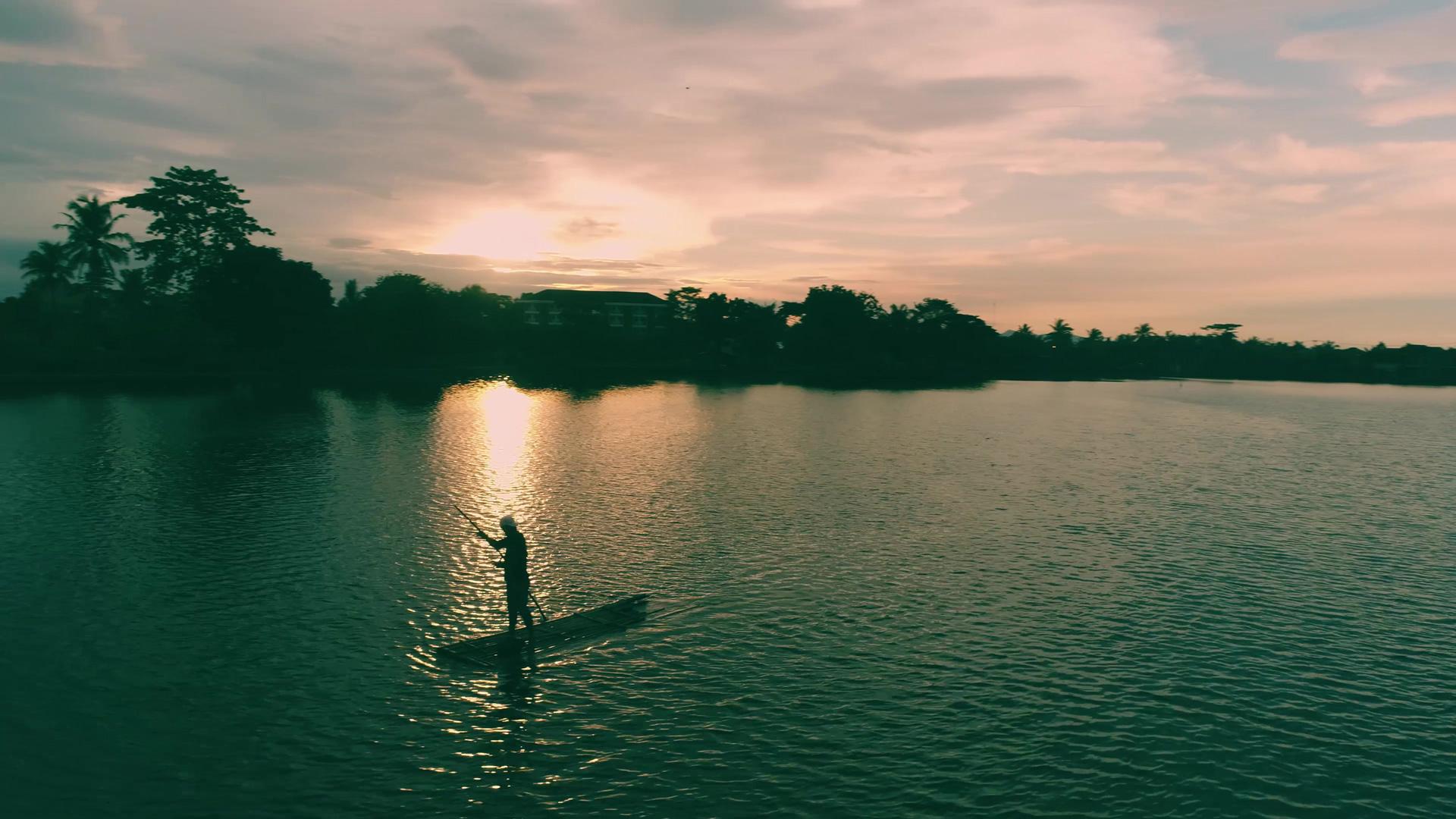 Jasa Pembuatan Video Company Profile Bogor Sky Beautiful Sunset at Situ Gede Bogor