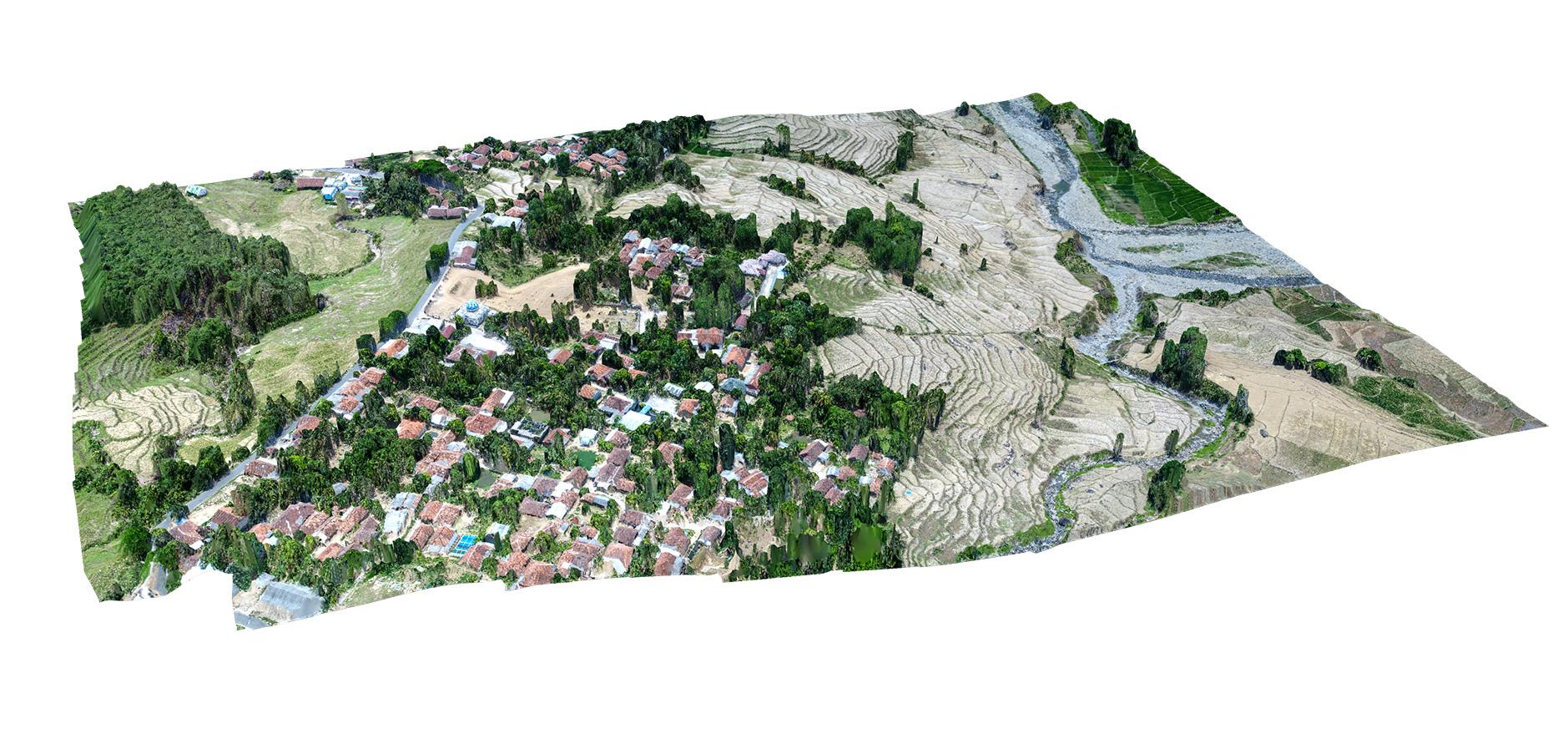 Sample 3D Model Jasa Pemetaan Foto Udara Drone Bogor Sky